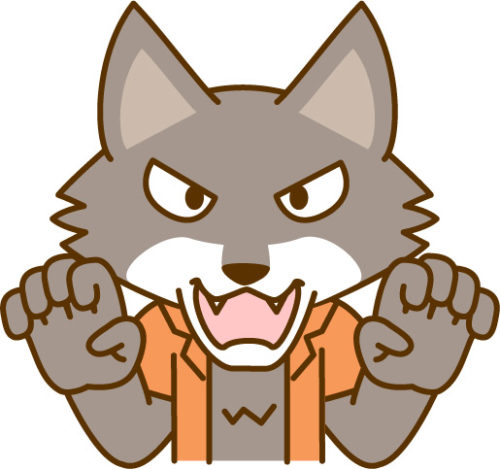 眠れないオオカミはTwitter(ツイッター)で話題のマンガ!登場キャラは何かに似ているぞ!