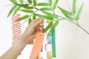 七夕の願い事の例文!保育園・幼稚園で書く方法 短冊の由来も気になる!